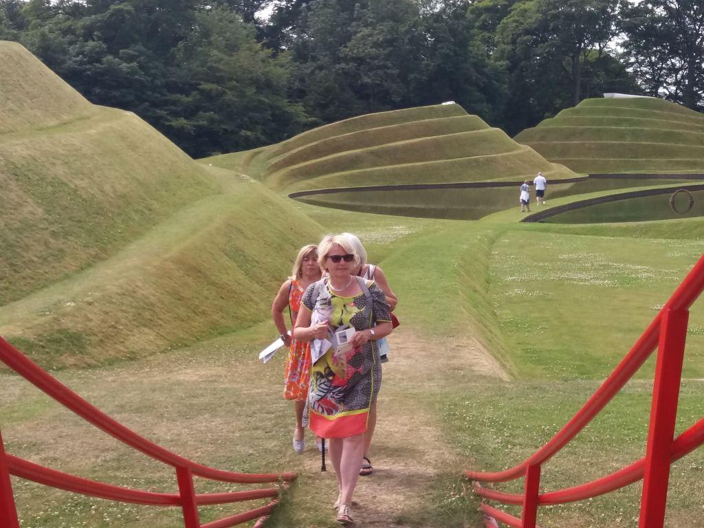 Jupiter Artland landscape sculpture with 3 guests