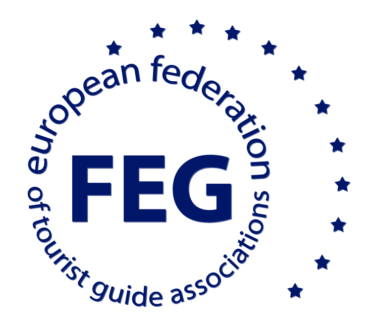 badge for member of European Federation of Tourist Guide Associations